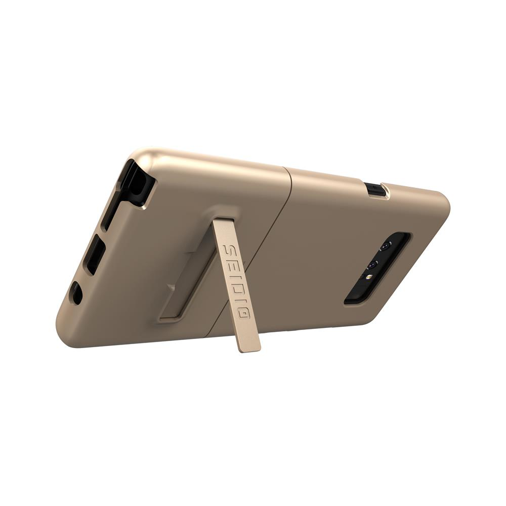 SEIDIO 都會時尚手機殼/保護殼 for Samsung Note 8-SURFACE(時尚金)