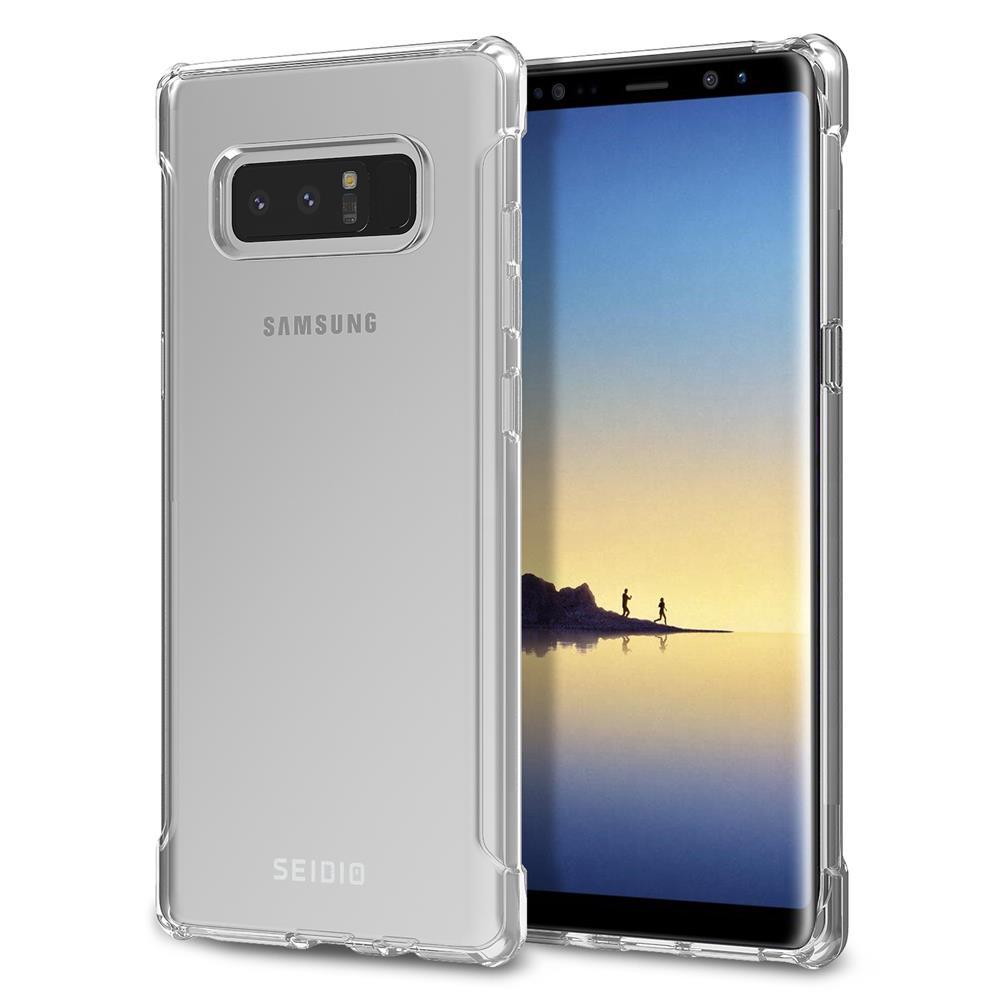 SEIDIO|四角氣墊輕透手機殼/保護殼 for Samsung Galaxy Note 8-OPTIK(透明)