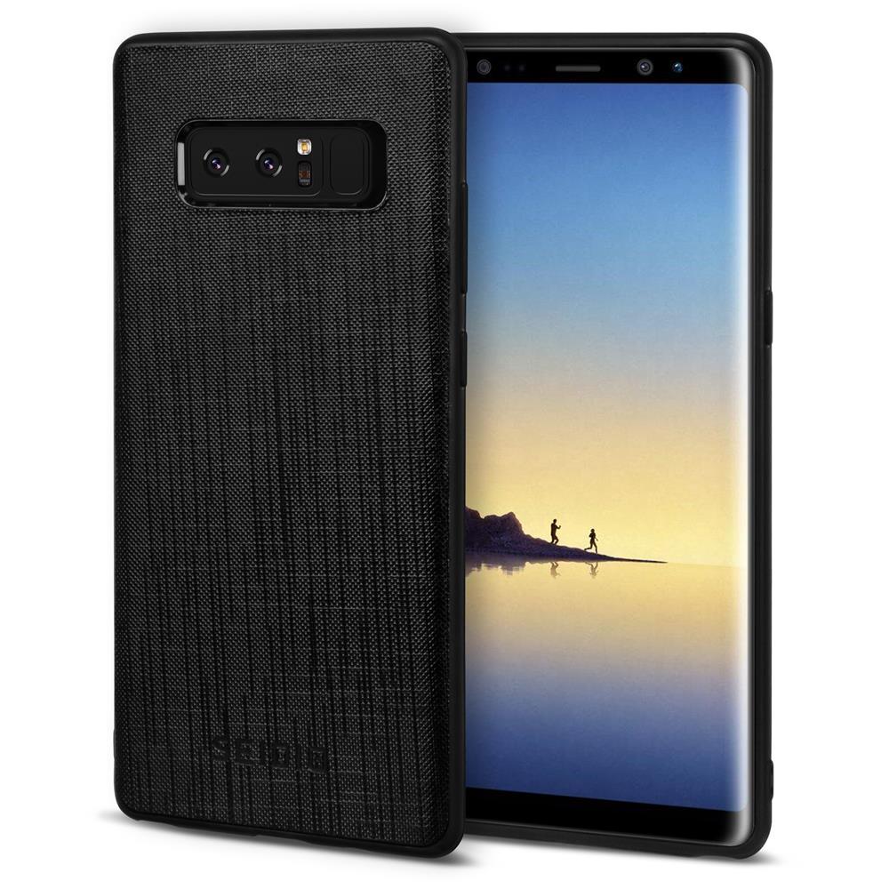 SEIDIO|極簡皮革手機殼/保護殼 for Samsung Note 8-EXECUTIVE(紳士黑)