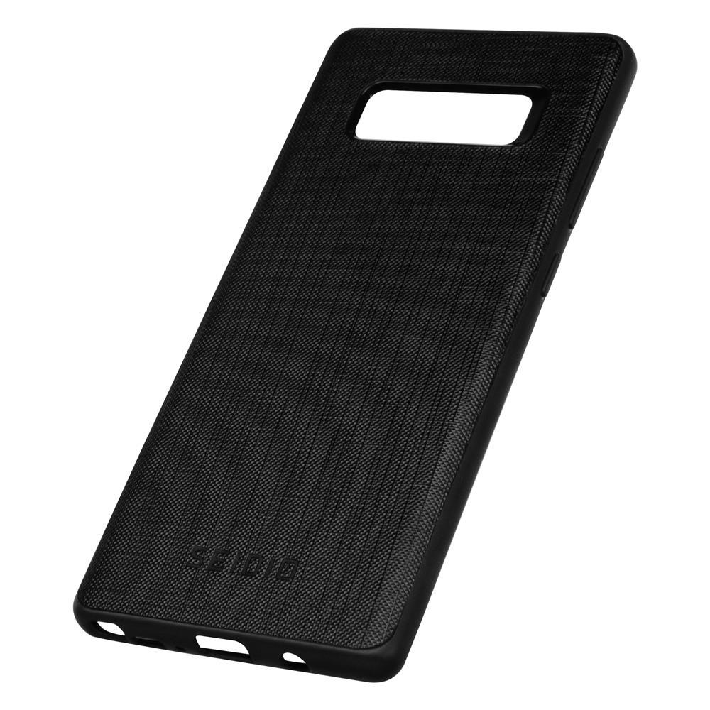 SEIDIO 極簡皮革手機殼/保護殼 for Samsung Note 8-EXECUTIVE(紳士黑)
