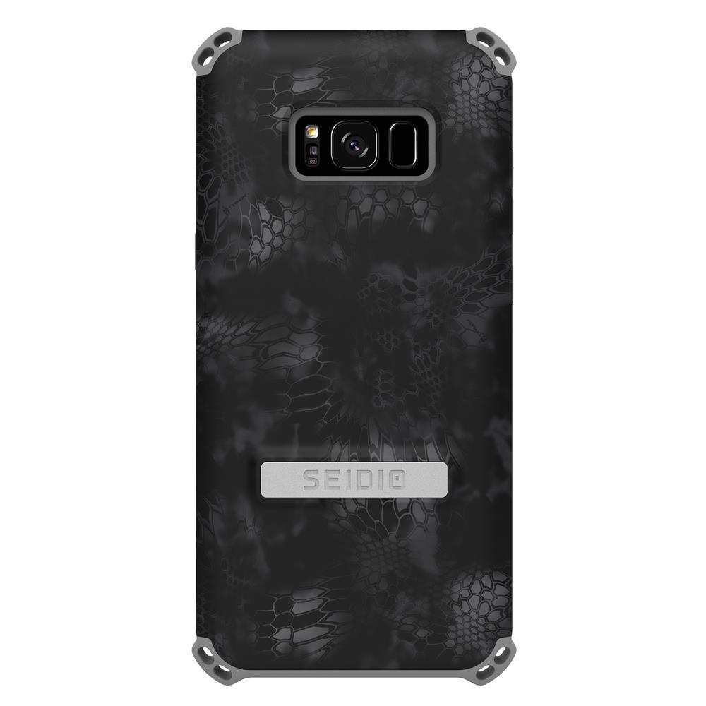 SEIDIO 軍規級四角防撞手機殼/保護殼 for Samsung Galaxy S8 Plus-DILEXx KRYPTEK(闇夜黑蟒)