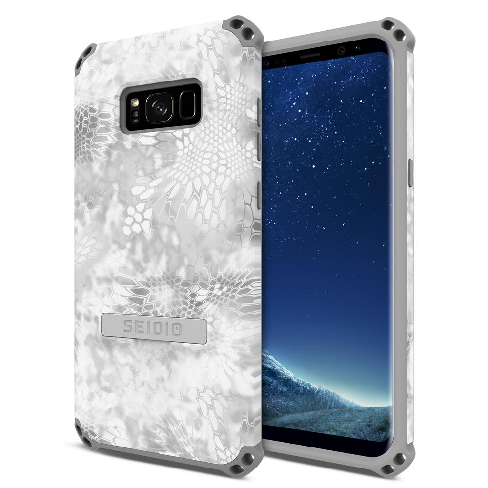 SEIDIO|軍規級四角防撞手機殼/保護殼 for Samsung Galaxy S8 Plus-DILEXx KRYPTEK(極地雪怪)