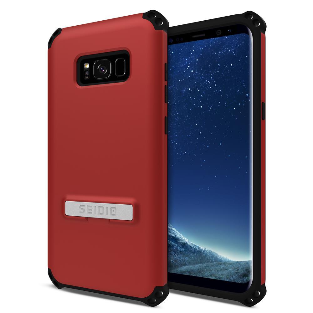 SEIDIO|軍規級四角防撞手機殼/保護殼 for Samsung Galaxy S8 Plus-DILEX(熱情紅)