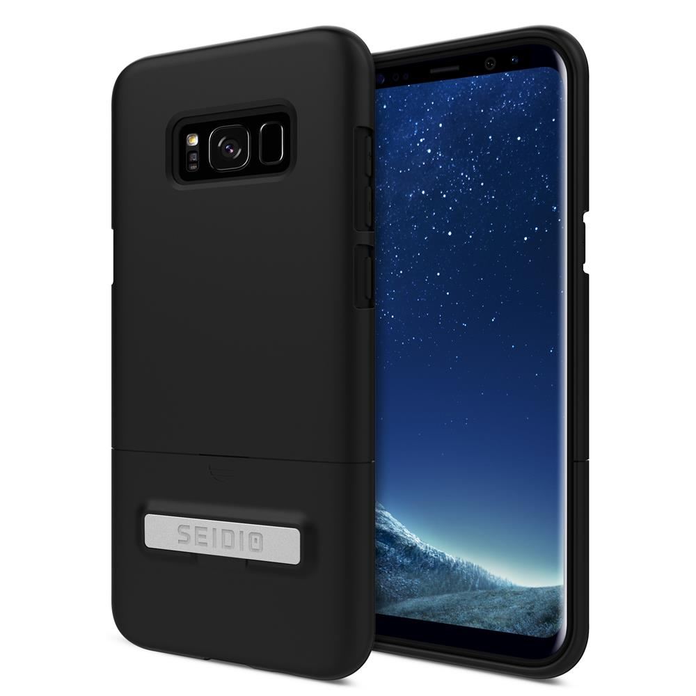 SEIDIO|都會時尚手機殼/保護殼 for Samsung S8 Plus-SURFACE(消光黑)