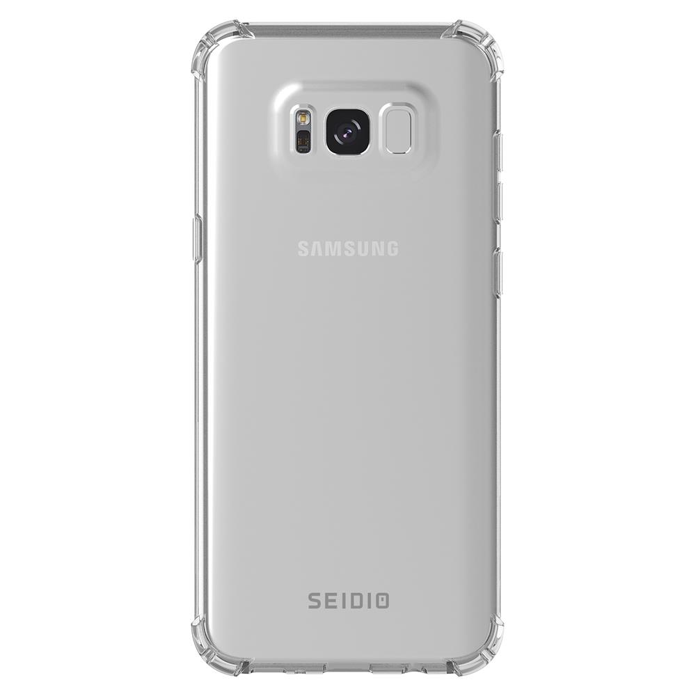 SEIDIO|四角氣墊輕透手機殼/保護殼 for Samsung Galaxy S8 Plus-OPTIK(透明)