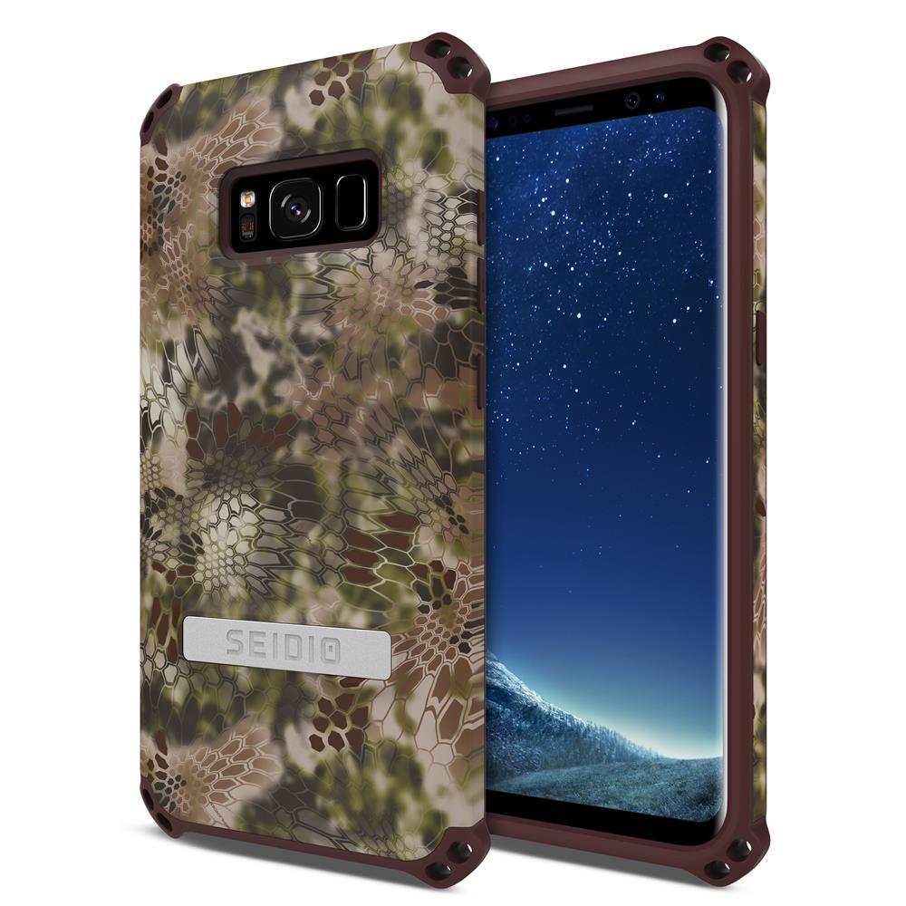 SEIDIO|軍規級四角防撞手機殼/保護殼 for Samsung Galaxy S8-DILEXx KRYPTEK(荒野戰士)