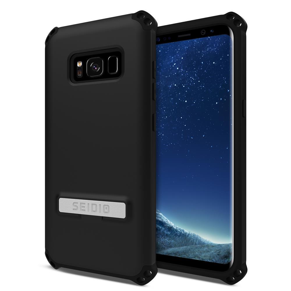 SEIDIO|軍規級四角防撞手機殼/保護殼 for Samsung Galaxy S8-DILEX(消光黑)
