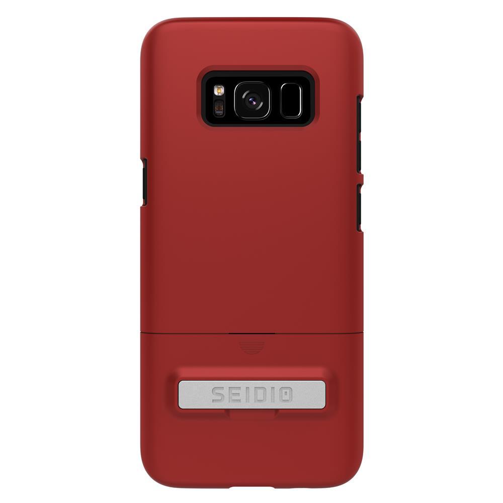 SEIDIO|都會時尚手機殼/保護殼 for Samsung S8-SURFACE(熱情紅)