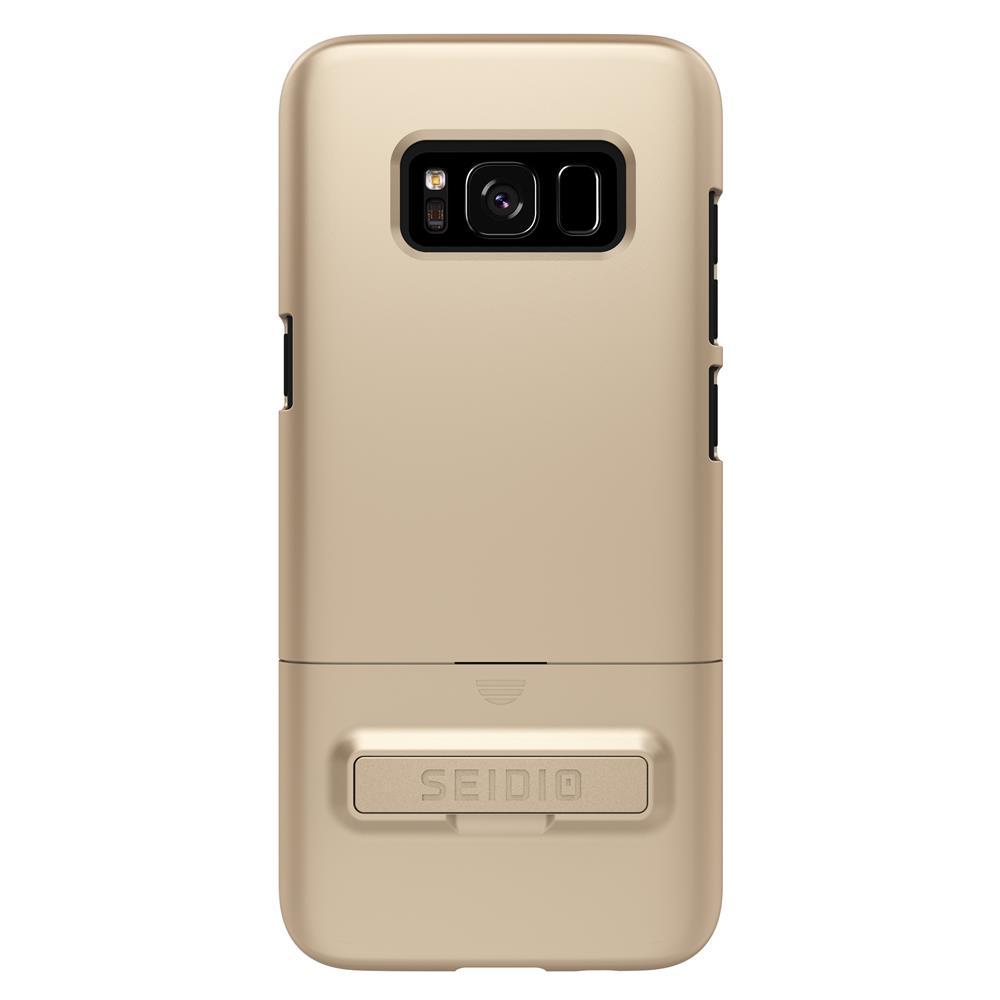 SEIDIO|都會時尚手機殼/保護殼 for Samsung S8-SURFACE(時尚金)