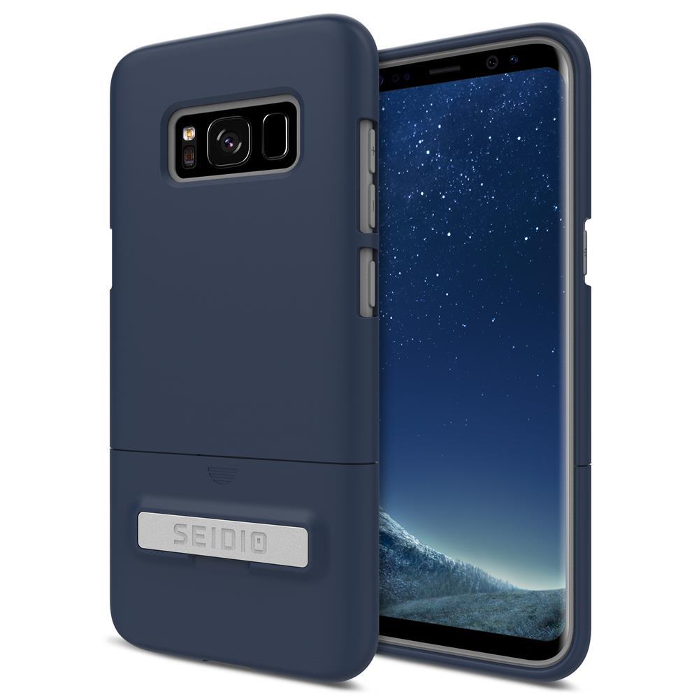 SEIDIO 都會時尚手機殼/保護殼 for Samsung S8-SURFACE(暗夜藍)
