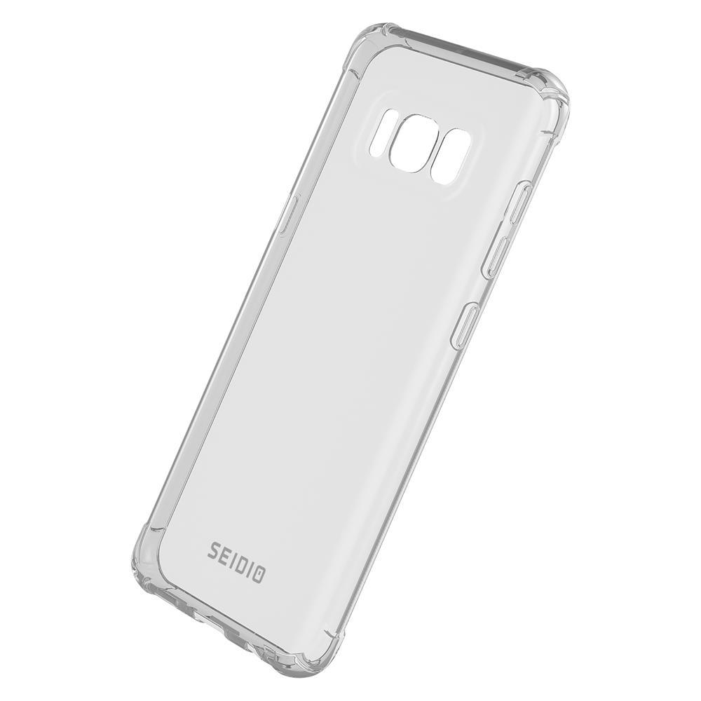 SEIDIO|四角氣墊輕透手機殼/保護殼 for Samsung Galaxy S8-OPTIK(透明)