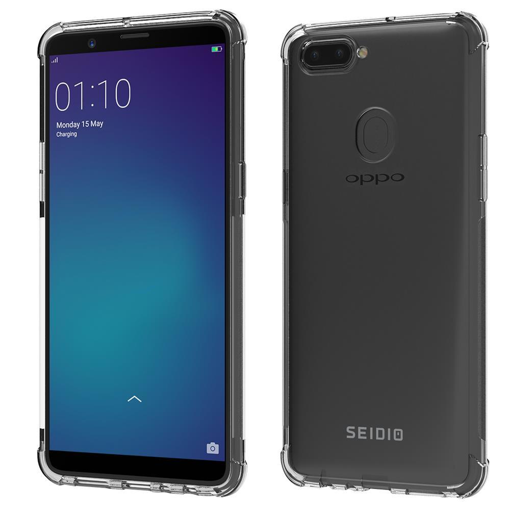 SEIDIO 四角氣墊輕透手機殼/保護殼 for OPPO R11s Plus-OPTIK(透明)