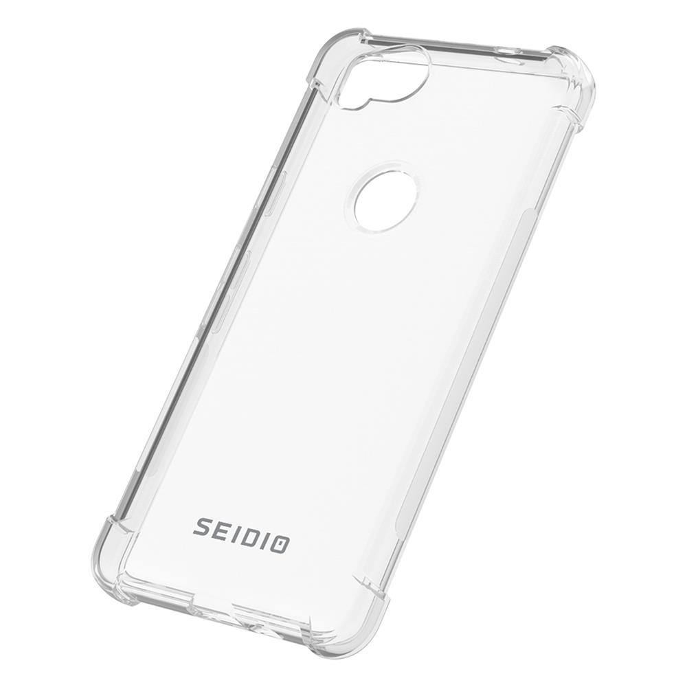 SEIDIO|四角氣墊輕透手機殼/保護殼 for Pixel 2-OPTIK(透明)