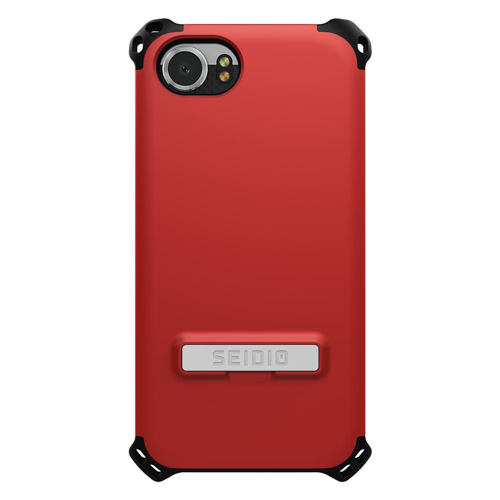 SEIDIO|軍規級四角防撞手機殼/保護殼 for BlackBerry KEYone-DILEX(熱情紅)