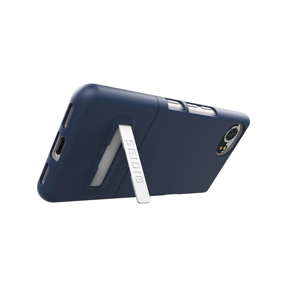 SEIDIO|都會時尚手機殼/保護殼 for BlackBerry KEYone-SURFACE(暗夜藍)
