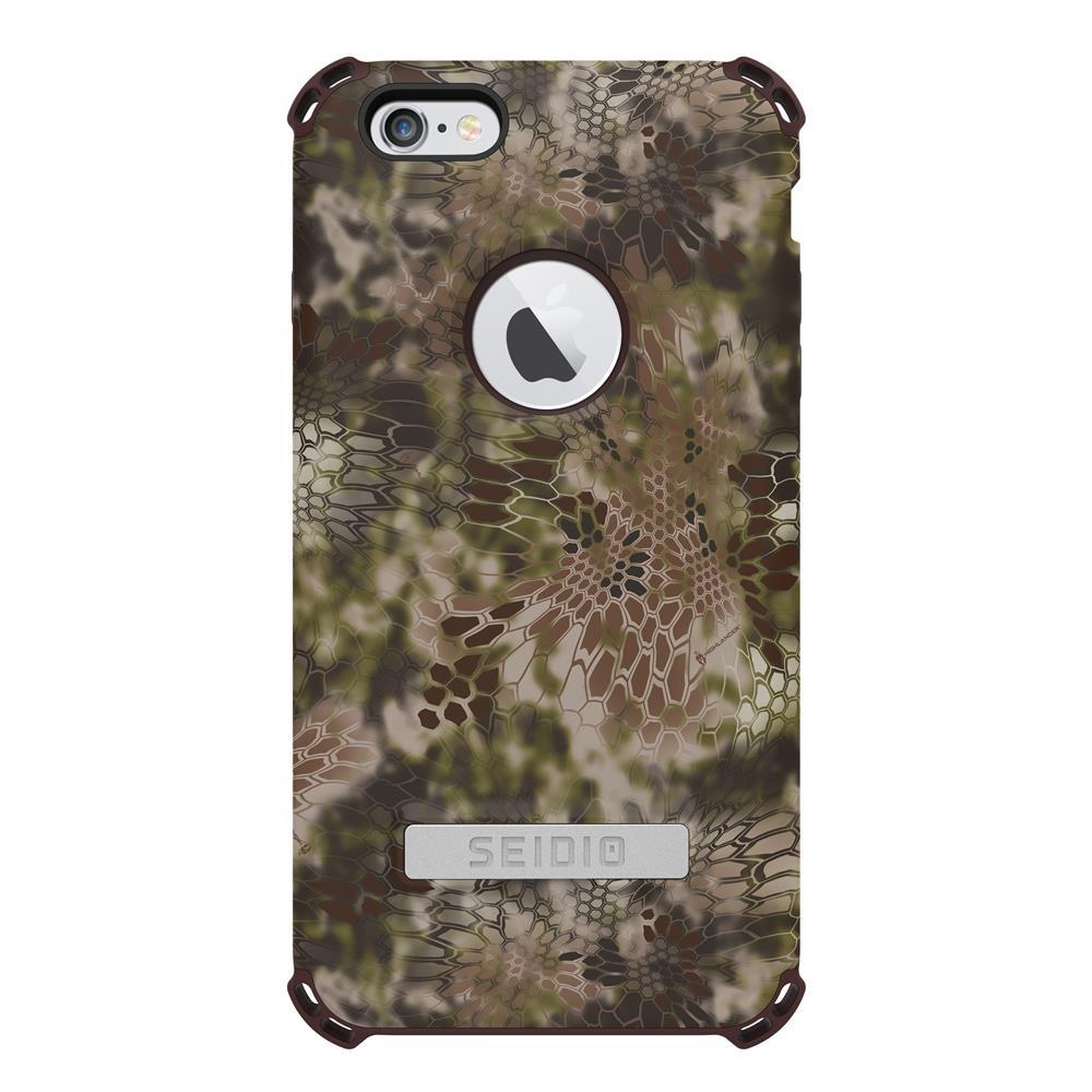 SEIDIO|軍規級四角防摔手機殼/保護殼 for Apple iPhone 6/6s Plus-DILEXx KRYPTEK(荒野戰士)