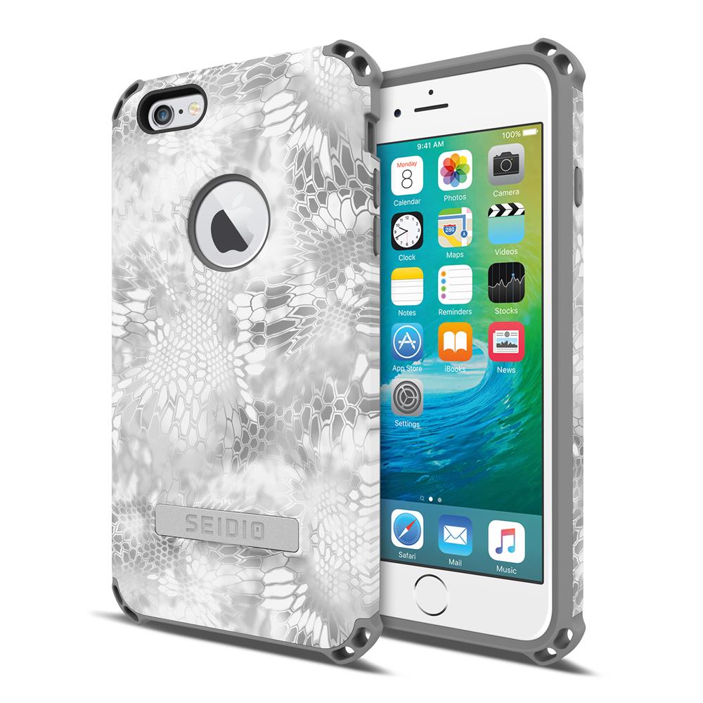 SEIDIO|軍規級四角防摔手機殼/保護殼 for Apple iPhone 6/6s Plus-DILEXx KRYPTEK(極地雪怪)