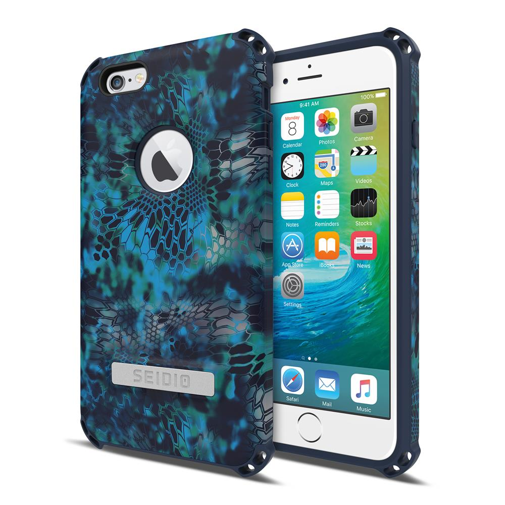 SEIDIO|軍規級四角防摔手機殼/保護殼 for Apple iPhone 6/6s Plus-DILEXx KRYPTEK(巨浪海神)