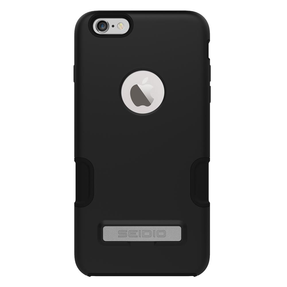 SEIDIO|專業級雙層手機殼/保護殼 for Apple iPhone 6/6s Plus-DILEX Pro(鐵漢黑)