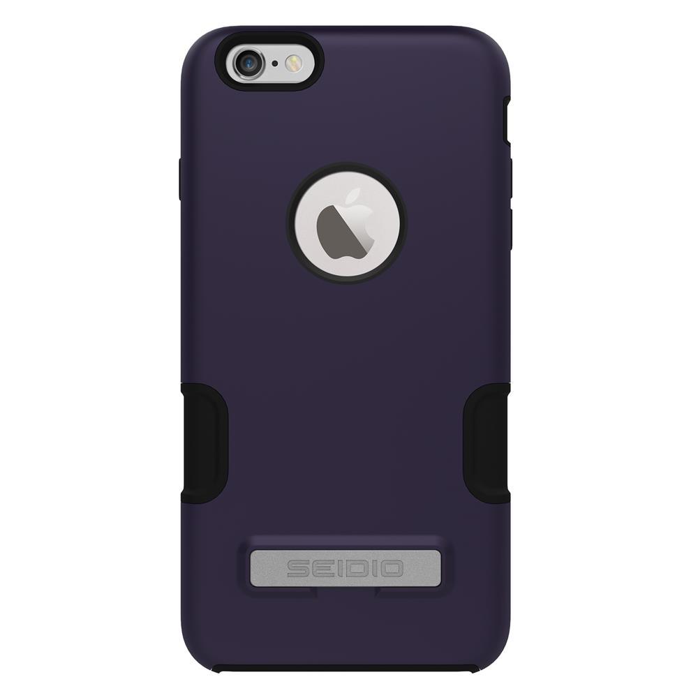 SEIDIO|專業級雙層手機殼/保護殼 for Apple iPhone 6/6s Plus-DILEX Pro(魅力紫)