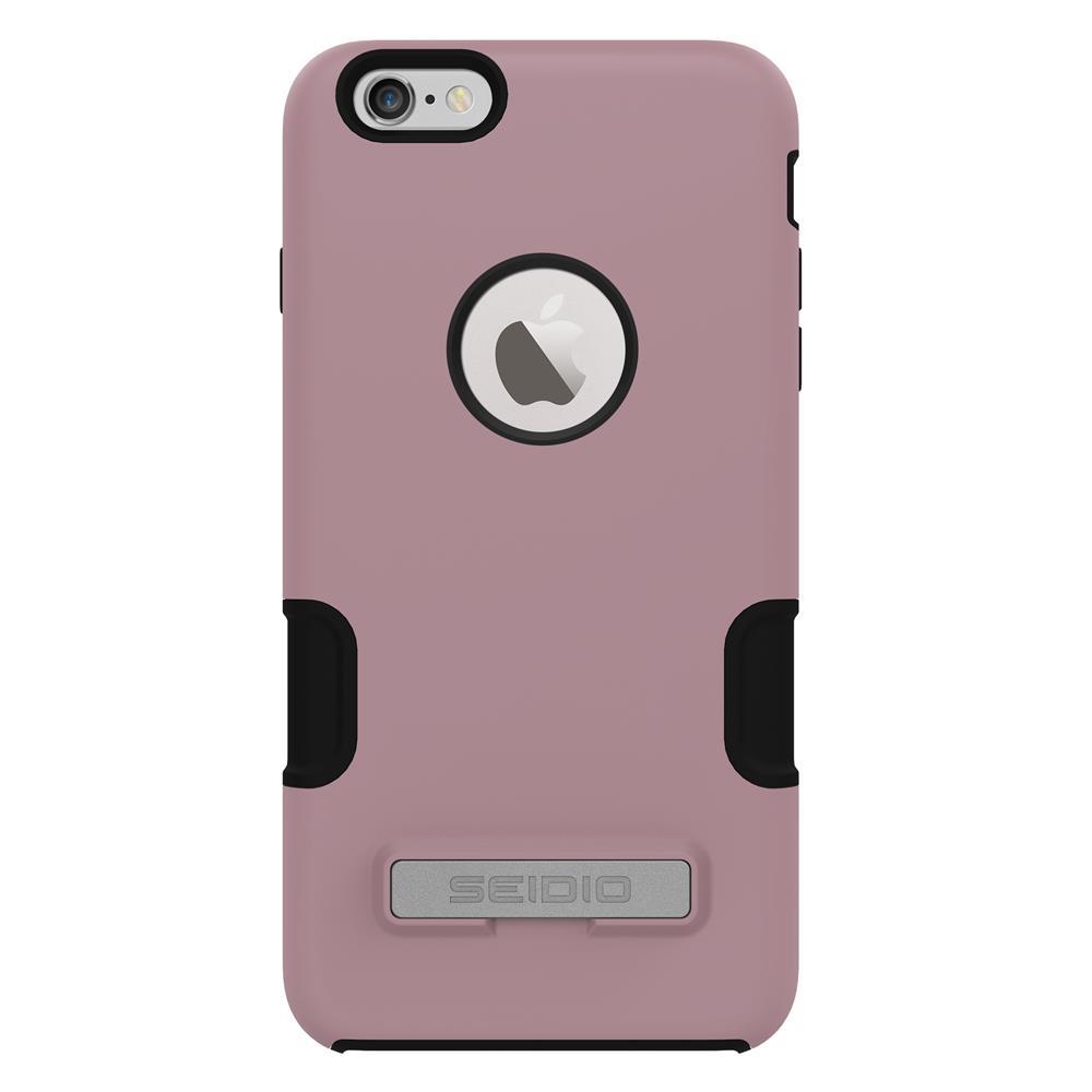 SEIDIO|專業級雙層手機殼/保護殼 for Apple iPhone 6/6s Plus-DILEX Pro(粉藕紫)