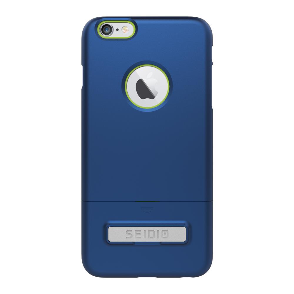 SEIDIO|都會時尚雙色手機殼/保護殼 for Apple iPhone 6/6s Plus-SURFACE(紳士藍綠)