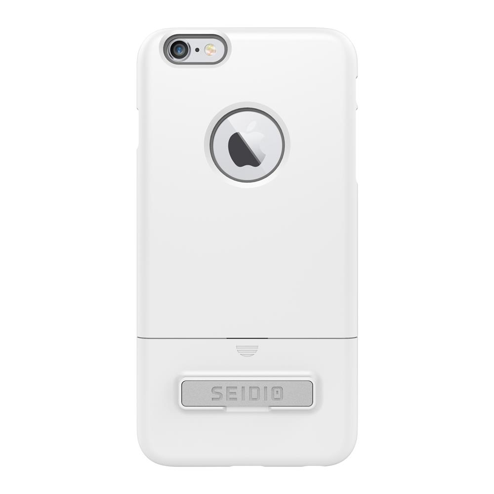 SEIDIO|都會時尚雙色手機殼/保護殼 for Apple iPhone 6/6s Plus-SURFACE(極簡白)