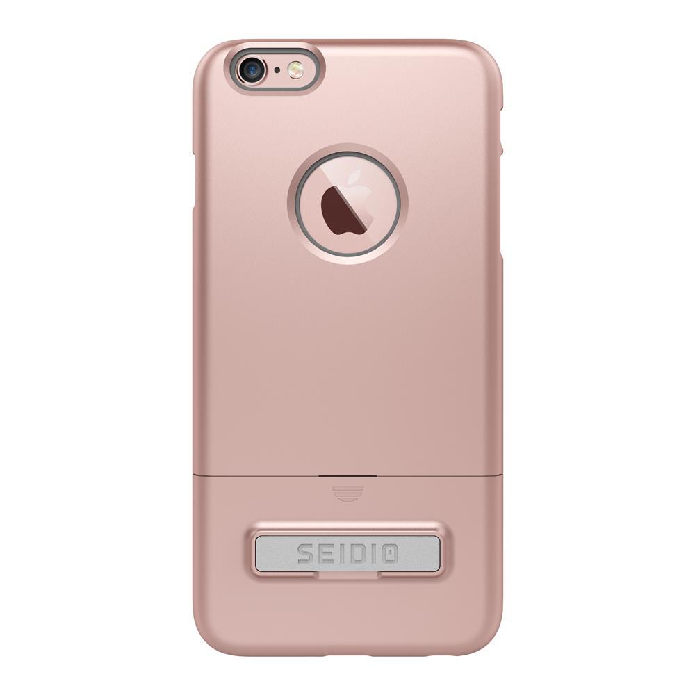 SEIDIO|都會時尚雙色手機殼/保護殼 for Apple iPhone 6/6s Plus-SURFACE(玫瑰金灰)