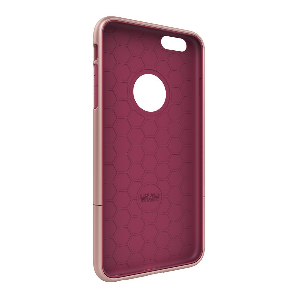 SEIDIO|都會時尚雙色手機殼/保護殼 for Apple iPhone 6/6s Plus-SURFACE(玫瑰金粉)