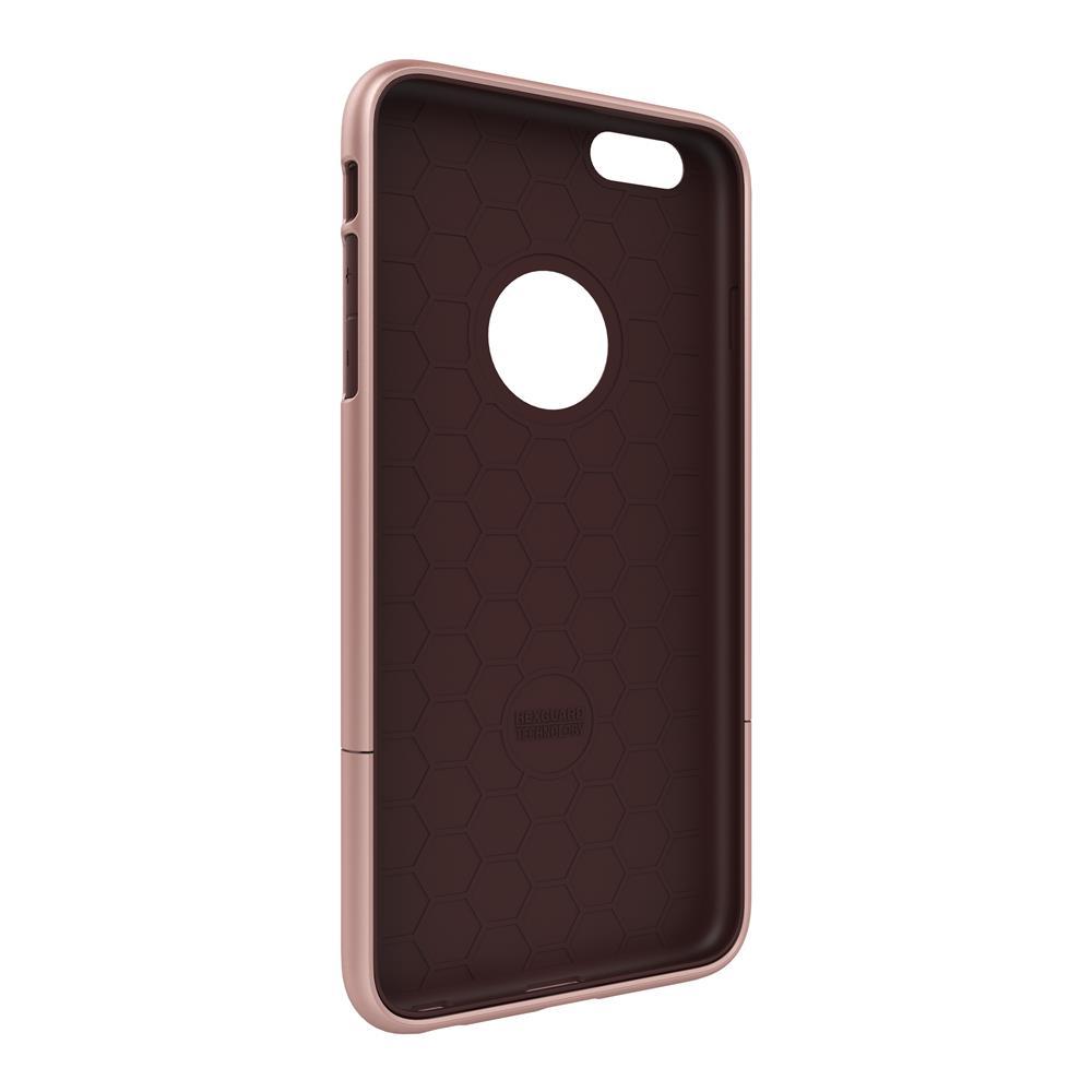 SEIDIO|都會時尚雙色手機殼/保護殼 for Apple iPhone 6/6s Plus-SURFACE(玫瑰金棕)