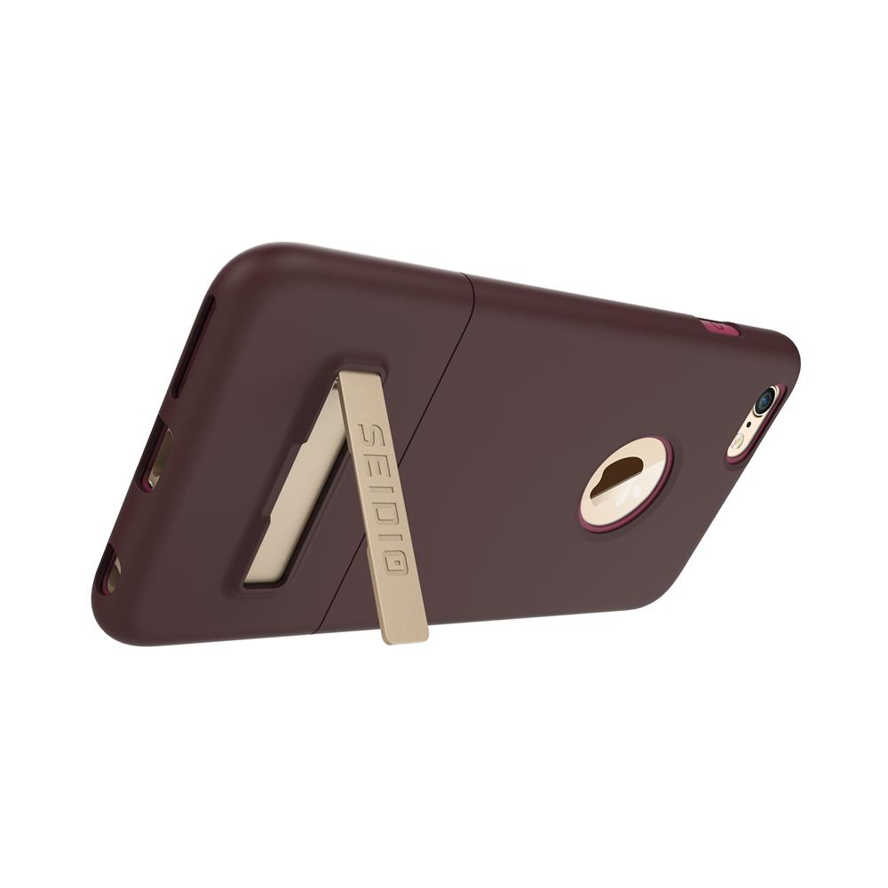 SEIDIO 都會時尚雙色手機殼/保護殼 for Apple iPhone 6/6s Plus-SURFACE(古銅棕粉)