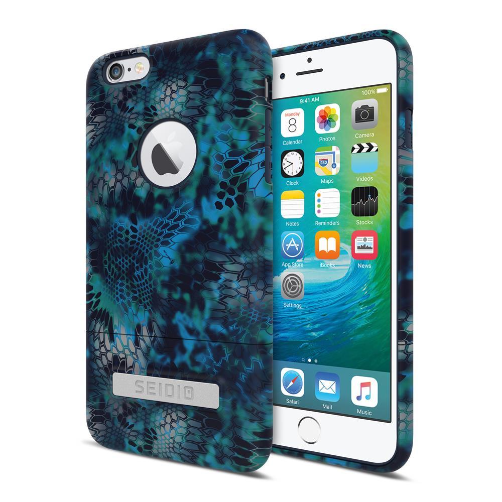 SEIDIO|迷彩聯名手機殼/保護殼 for Apple iPhone 6/6s Plus-SURFACE x KRYPTEK(巨浪海神)