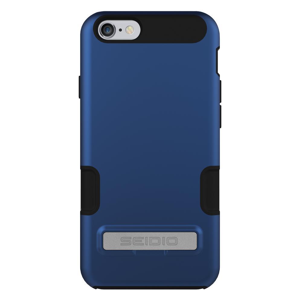SEIDIO|專業級雙層手機殼/保護殼 for Apple iPhone 6/6s-DILEX Pro(科技藍)