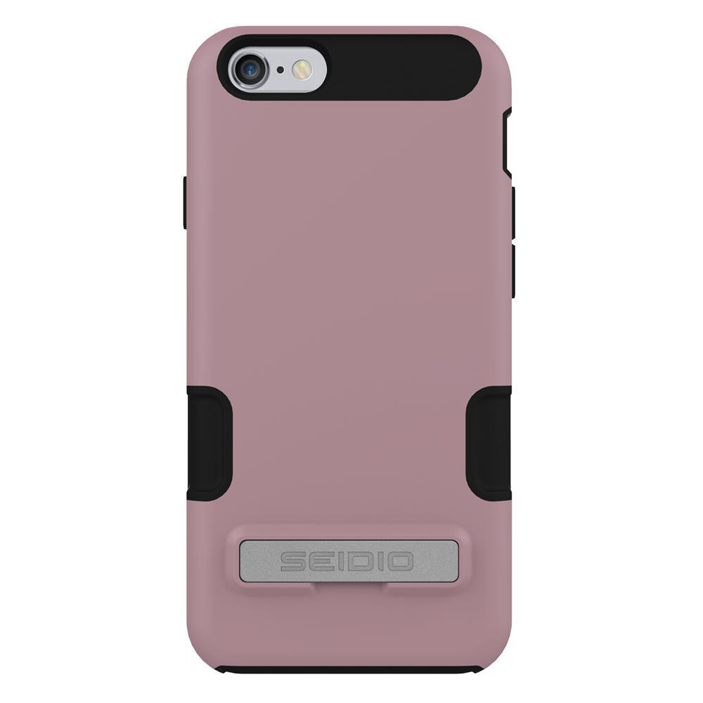 SEIDIO|專業級雙層手機殼/保護殼 for Apple iPhone 6/6s-DILEX Pro(粉藕紫)