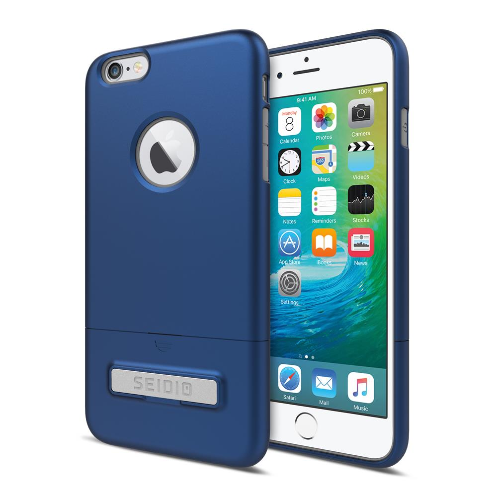 SEIDIO|都會時尚雙色手機殼/保護殼 for Apple iPhone 6/6s-SURFACE(紳士藍)