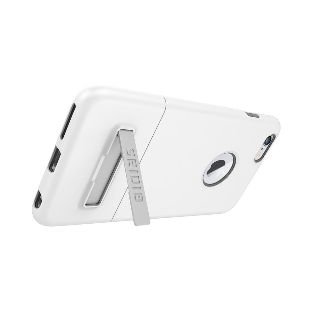 SEIDIO|都會時尚雙色手機殼/保護殼 for Apple iPhone 6/6s-SURFACE(極簡白)