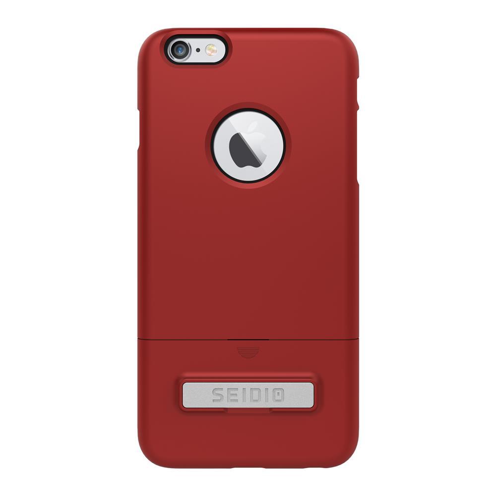 SEIDIO|都會時尚雙色手機殼/保護殼 for Apple iPhone 6/6s-SURFACE(熱情紅)