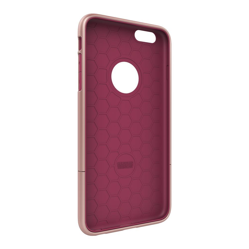 SEIDIO|都會時尚雙色手機殼/保護殼 for Apple iPhone 6/6s-SURFACE(玫瑰金粉)