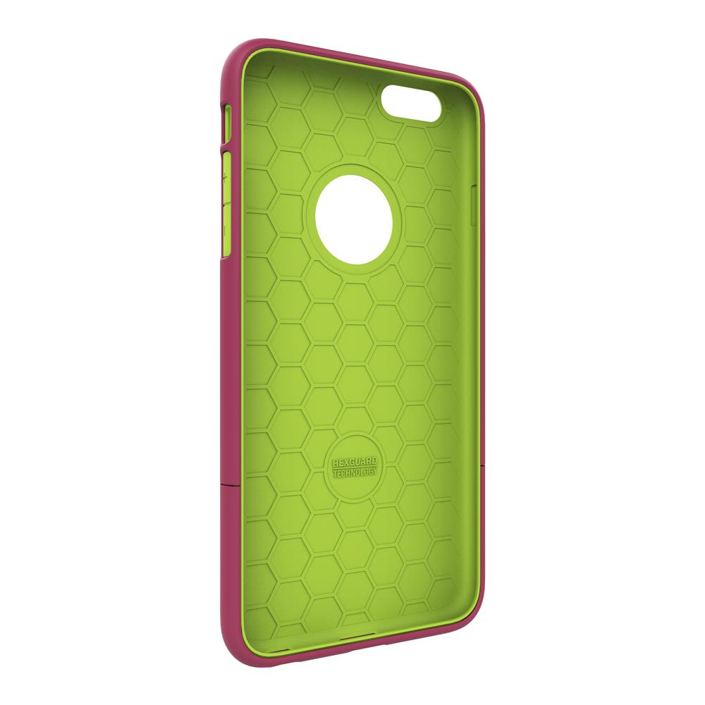 SEIDIO|都會時尚雙色手機殼/保護殼 for Apple iPhone 6/6s-SURFACE(野豔桃)