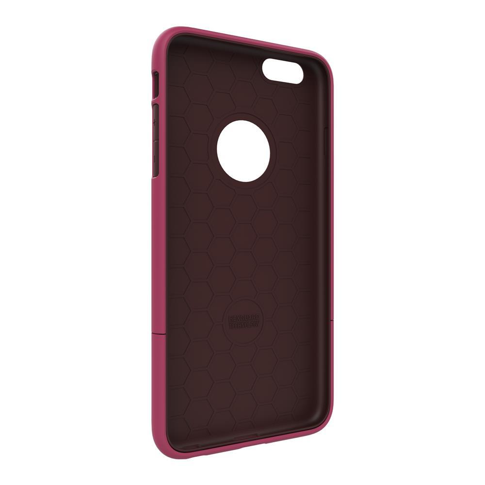 SEIDIO|都會時尚雙色手機殼/保護殼 for Apple iPhone 6/6s-SURFACE(野豔桃棕)