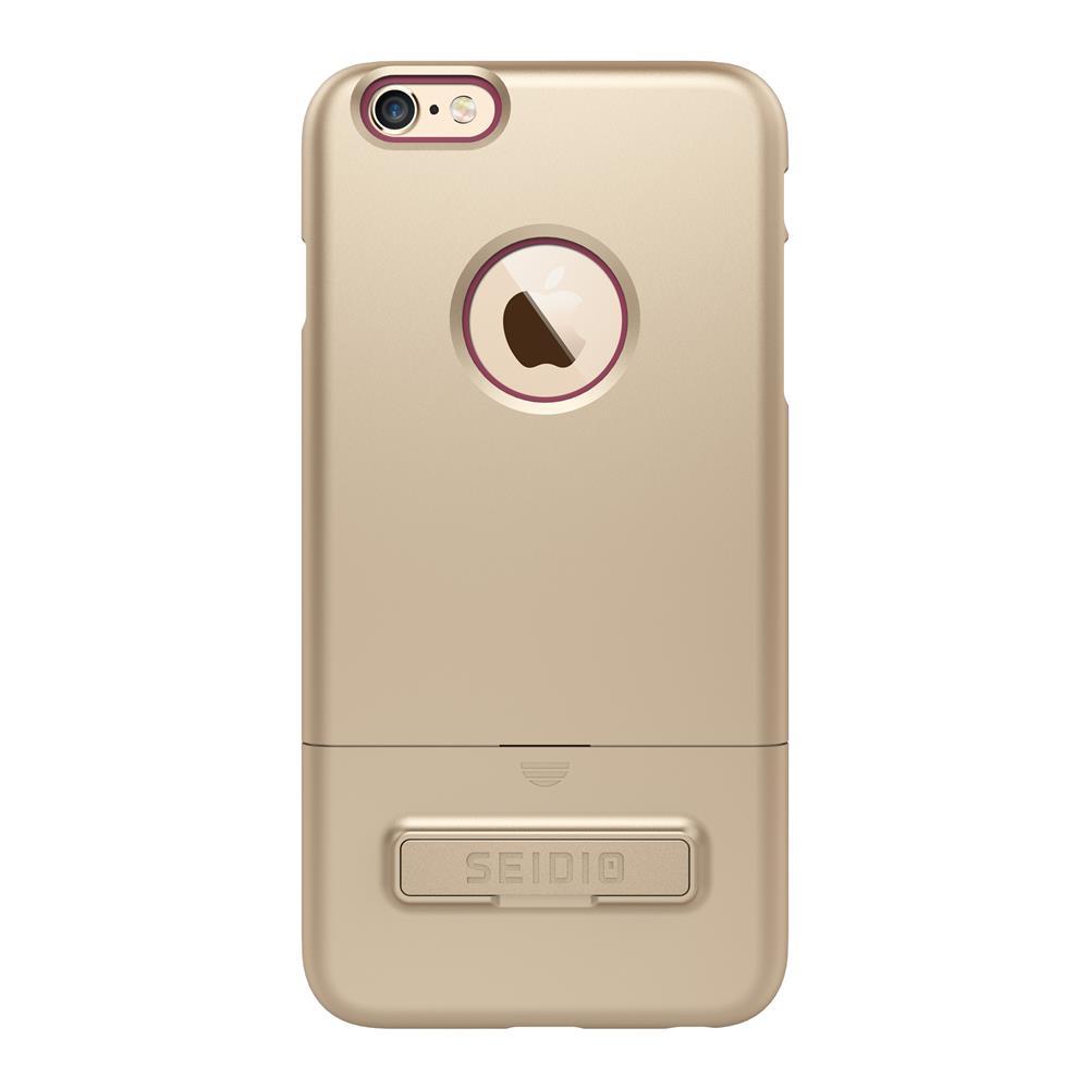 SEIDIO|都會時尚雙色手機殼/保護殼 for Apple iPhone 6/6s-SURFACE(時尚金粉)