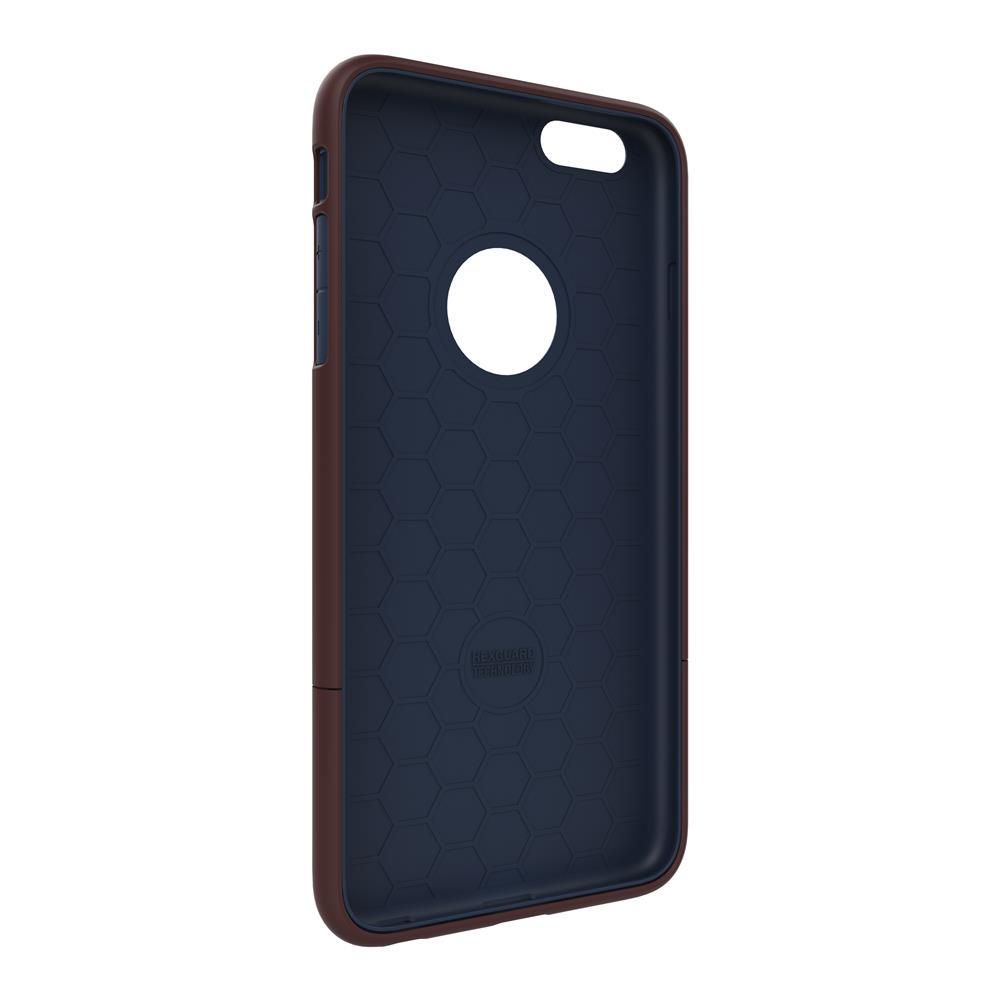 SEIDIO 都會時尚雙色手機殼/保護殼 for Apple iPhone 6/6s-SURFACE(古銅棕藍)