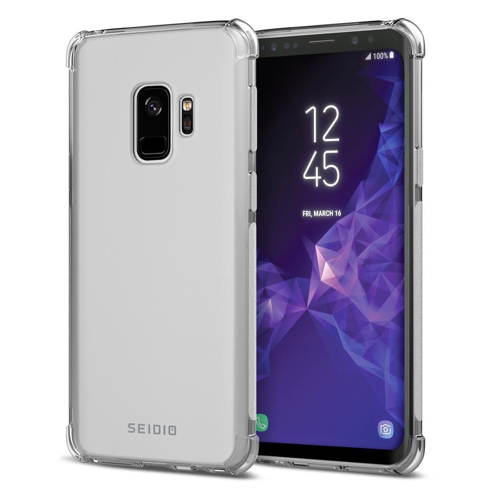 SEIDIO|四角氣墊輕透手機殼/保護殼 for Samsung Galaxy S9-OPTIK(透明)