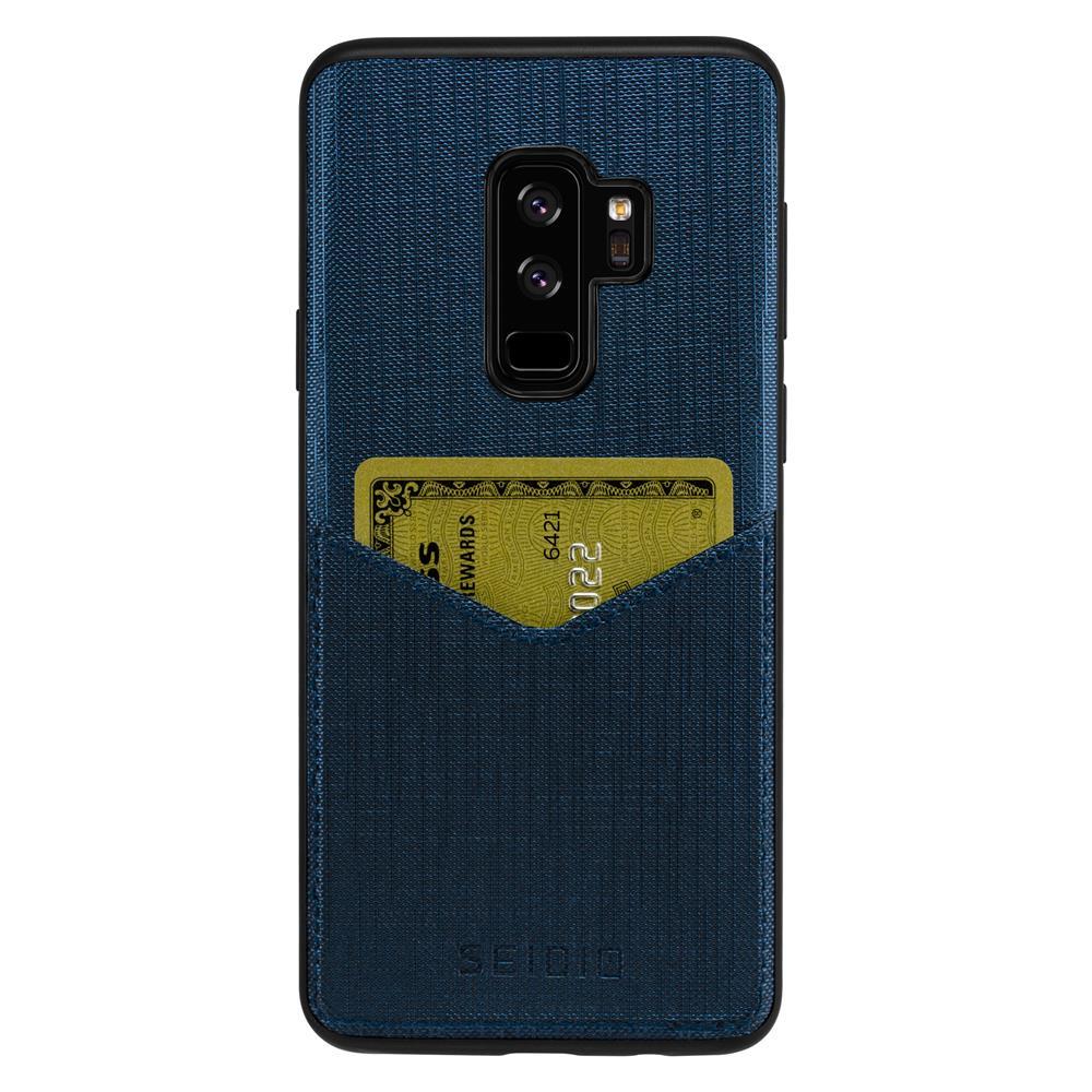 SEIDIO|極簡皮革手機殼/保護殼 for Samsung S9 Plus-EXECUTIVE(科技藍)