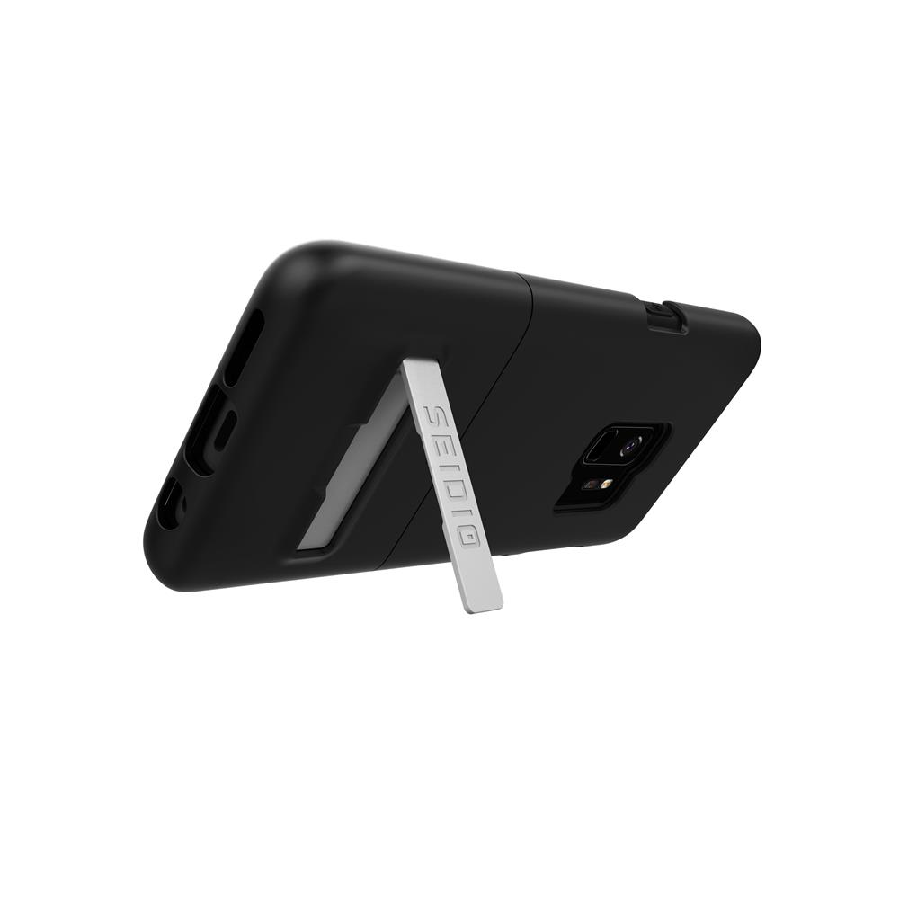 SEIDIO|都會時尚手機殼/保護殼 for Samsung S9-SURFACE(消光黑)