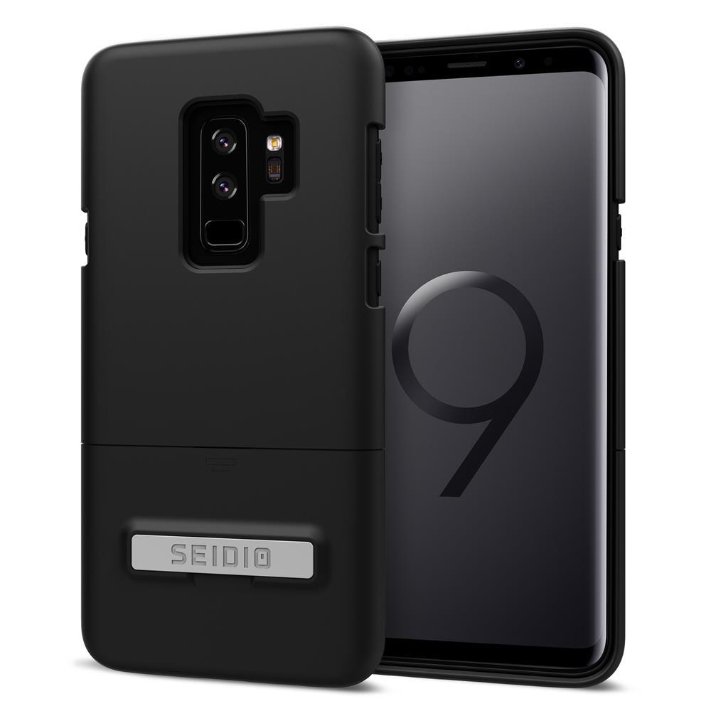 SEIDIO|都會時尚手機殼/保護殼 for Samsung S9 Plus-SURFACE(消光黑)