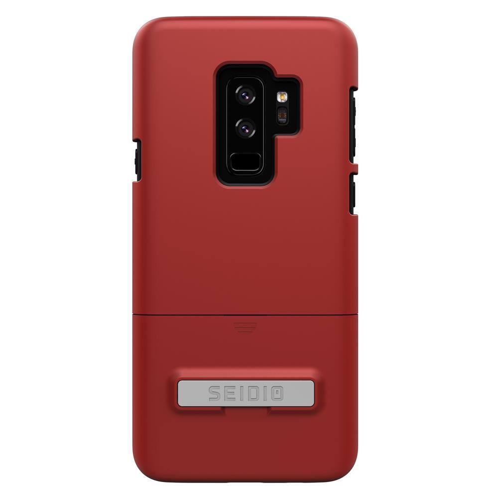 SEIDIO|都會時尚手機殼/保護殼 for Samsung S9 Plus-SURFACE(熱情紅)