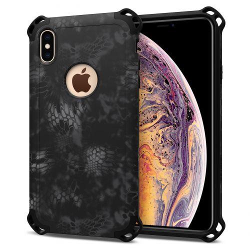 SEIDIO|軍規級四角防摔手機殼/保護殼 for Apple iPhone Xs MAX-DILEX2018 x KRYPTEK