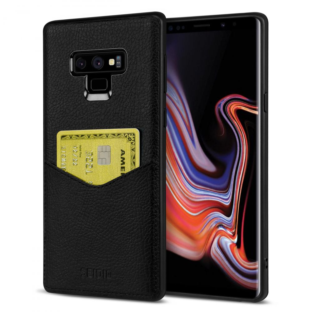 SEIDIO|極簡皮革手機保護殼 for Samsung Galaxy Note 9-EXECUTIVE™(紳士黑)