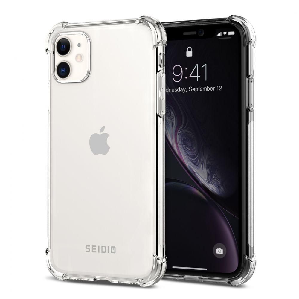 SEIDIO │ 四角氣墊輕透手機保護殼for Apple iPhone 11-OPTIK